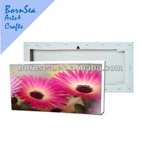Flower digital inkjet polyester printing photo
