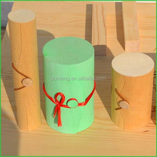 Stained Birch Wooden Box for Home Decor Wholesale