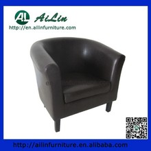 PU leather tub chair/ living room chairs AL04