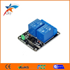 2 Channel 5V / 12V Relay Module black board with Light Coupling for Ardu ARM PIC AVR