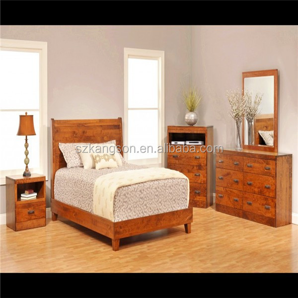 Solid Wood Oak Bedroom Furniture Set Buy Solid Wood