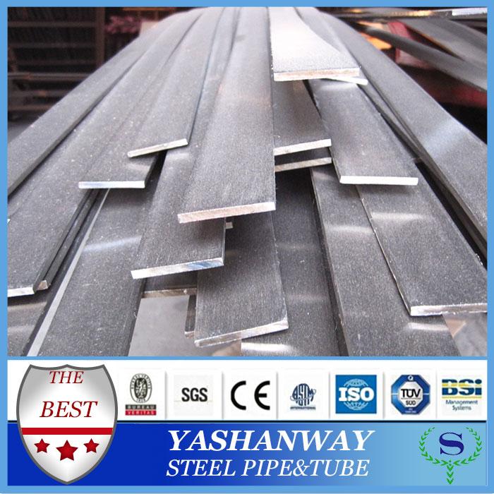 ysw SS400 Q235B S235JR ASTM A36 hafif çelik düz bar kg başına fiyatı