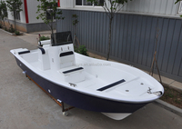 Liya Petrol/Gasoline fishing boat 5.8m fiberglass hardtop for river work vessel