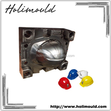 Gold Supplier OEM/ LKM Mold Base Cavity DIN3212 Steel Specification PA66+GF30 Motor Cycle Helmet Mold