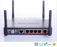 Ce certification 3g vehicle wifi modem with dual sim card slot 4 Lan ethernet port H50 series