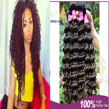 mona hair very popular can be dyed malaysian curly hair
