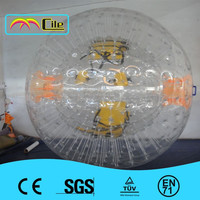 CILE 2015 The most popular Newest design inflatable transparent Zorb ball with painting