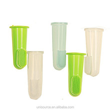 Silicone rubber baby toothbrush