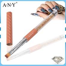 ANY Nail Art Beauty Design Crystal Nails Building Rhinestone Nylon UV Gel Nail Brush UV Gel Art