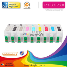 SCP600 for epson SureColor ink cartridge inkjet cartridge