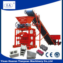 competitive price QT4-35 small products manufacturing block machinery,common brick making machine,brick machine concrete block