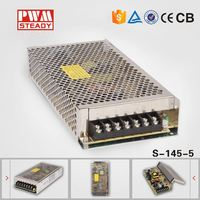 145W 5V led power driver 5A s-145-5 led driver power supply