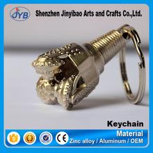 Oil Drill Rig 3D Model Keychain Custom Drill Bit Keyring Parts