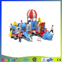 2014 kinplay new design hot sale kidergarten Outdoor playground equipment