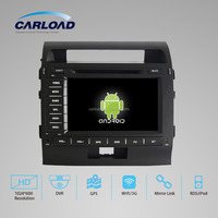 New 8'' Android 4.4.4 16GB Quad-core high definition 1024*600 toyota land cruiser car multimedia dvd player wifi dvd