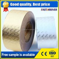 aluminum foil roll/gold color aluminum foil paper for cigarettes
