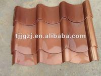 copper roofing tile