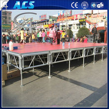 Aluminum Modular Concert Stage,Event Stage,Non-slip Portable Stage For Sale