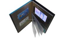 2015 Newest Design Video Postcard/ Video Mailer/ LCD Video Brochure Card