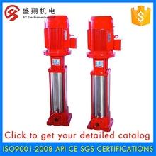 New Arrival High Efficiency Booster Vertical Diesel Engine Fire Pump