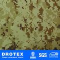poliéster rip stop digital del camuflaje tela para militares