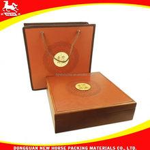 antique wooden tea box