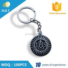 Metal key chain 3d custom keychain token holder keychain