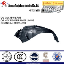 Fender lining for Acura mdx 07'