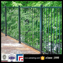 two-rail used metal fence post, aluminum fence pricing, aluminum garden fence