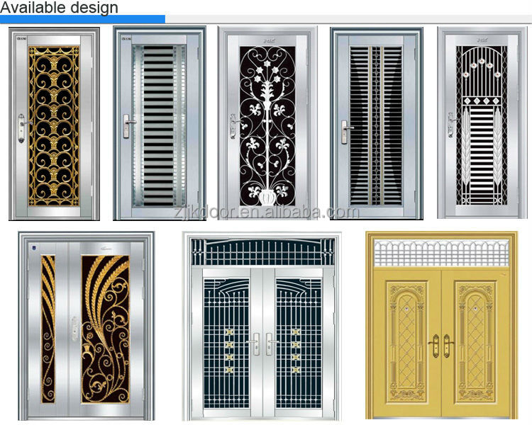 JK-SS9084 main stainless steel house gate grill designs