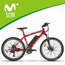 fashionable mountain electric vehicle with 500W brushless motor
