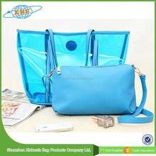 New Fashionable Pvc Beach Bag,Transparent Beach Bag 2015