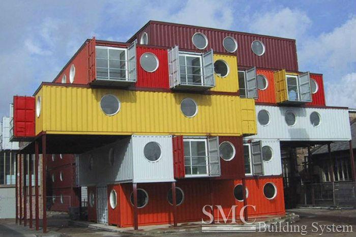 Maisons préfabriquées container
