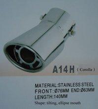 Muffler tip-A14H (Corolla)