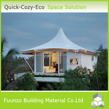 Luxury Decorated Modular Preassembled Container House