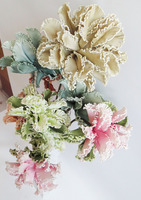 hot selling two heads eva foam artificial flowers 87cm for home decoration