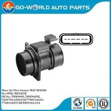 Auto Sensor , Air Flow Mass Sensor for Opel/ Renault 5WK9609, 5WK9609Z,,8ET009142-651