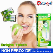 non-peroxide teeth whitening strips hot sale in europe,best high quality than crest 3d strips