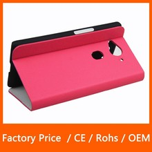 New Products Slim Flip Stand PU Leather Protector Cover Phone Case for Acer Liquid E3