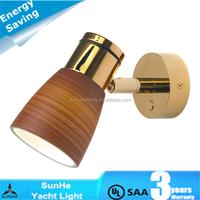 Press switch 12v/24v 2W RV & Motor home LED Light caravan led wall lights interior light