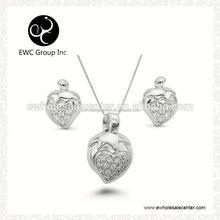 lastest luxury cubic zirconia zircon pendants silver pen