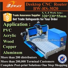 Table top Ncstudio interface small 3020 CNC Router for Wood