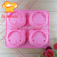 kitty cat silicone cake mold soap molds