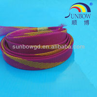 SUNBOW Polyester PET woven expandable tube
