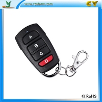 Factory shenzhen 433M wireless transmitter for motor garage door CY084-4
