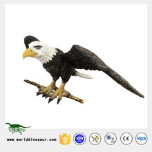 Waterproof Material Eagle Figure for Christmas Tree Decor
