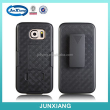 mobile phone holder combo kickstand case for Samsung Galaxy S6