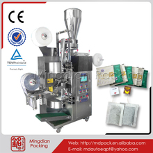 MD-168 Inner teabag with outer foil tea bag envelope tea weighing filling bag sealing and packing machine