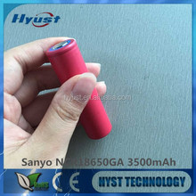 NCR18650GA 3.6V 3500mah 1Rechargeable Li-ion battery from Chinese factory/manufacture/distributor/seller - Free shipping