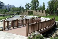 outdoor garden wpc railing/handrail/deckingflooring